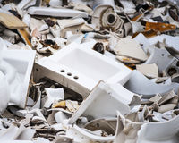 Porcelain Wreckage Stock Photos