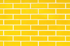 Porcelain Yellow Bricks Pattern for Background Royalty Free Stock Photo