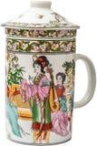 Porcelaine chinoise de thé Images stock