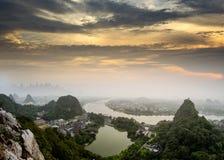 Porcelaine de Guilin images stock