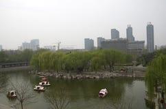 Porcelaine de Hubei de parc de ville de Handan photo stock