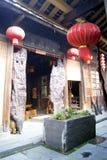 Porcelaine de Hunan : bâtiments antiques Photo stock