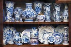 Porcelaine de la Hollande Photographie stock libre de droits