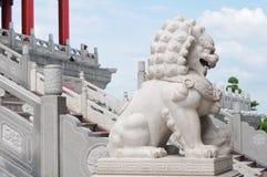 Porcelaine de lion Image stock