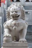 Porcelaine de lion Photographie stock libre de droits
