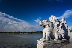 Porcelaine de Pékin de palais d'été Photos libres de droits