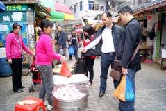 Porcelaine de Shenzhen : achetez les casse-croûte locaux Images stock