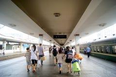 Porcelaine de Tchang-cha : station de train Photo libre de droits