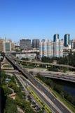 Porcelaine de ville de Pékin Photos libres de droits