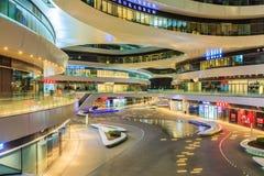 Porcelaine moderne célèbre de Œin de ¼ de SOHOï de galaxie de bâtiments de point de repère de Pékin Photographie stock