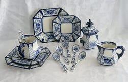 Porcelaine peinte 4 Photos stock