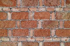 Porcelaine rouge de mur de briques Image libre de droits