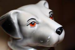Porcelains dog Royalty Free Stock Photo