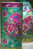 Porcelana antiga chinesa imagens de stock