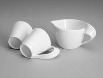 Porcelana branca Fotografia de Stock Royalty Free