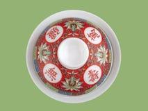 Porcelana china del té Fotografía de archivo