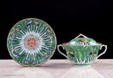 Porcelana chinesa da exportação fotografia de stock royalty free
