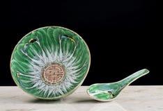 Porcelana chinesa da exportação foto de stock