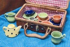Porcelana coloreada Fotografía de archivo libre de regalías