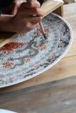 Porcelana da tração fotografia de stock