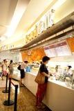 Porcelana de Shenzhen: lojas e consumidores do pão Fotos de Stock