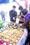 Porcelana de Shenzhen: o jade da escolha e da compra Imagens de Stock
