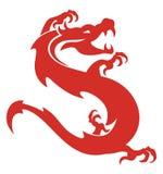 Porcelana do dragão Fotos de Stock Royalty Free