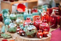 Porcelana granaty Zdjęcie Royalty Free