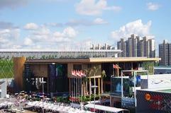 porcelana pawilon expo2010 Indonesia Shanghai Zdjęcie Royalty Free