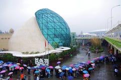 porcelana pawilon expo2101 Israel Shanghai Fotografia Stock