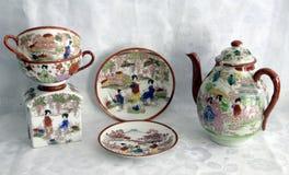 Porcelana pintada 5 Imagens de Stock