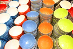 Porcelana puchary Fotografia Royalty Free