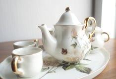 Porcelana set Zdjęcie Stock