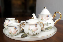 Porcelana set Zdjęcia Royalty Free