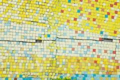 Porcelana składa mozaiki tło robić łamana porcelana Zdjęcia Royalty Free