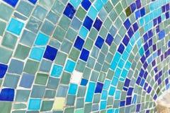 Porcelana składa mozaiki tło robić łamana porcelana Obrazy Royalty Free