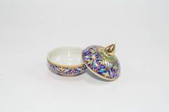 Porcelana tailandesa fotografia de stock royalty free