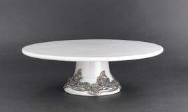 porcelana tortowy stojak Obrazy Stock