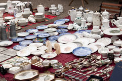 Porcelana velha imagem de stock royalty free