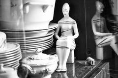 Porcelana velha de URSS imagens de stock royalty free