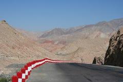 porcelana western pusty drogowy Zdjęcie Royalty Free