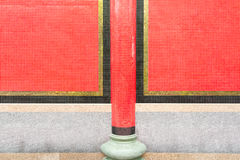 Porcelanowa świątyni ściana Zdjęcia Stock
