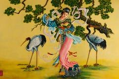 Porcelanowa świątynia w Wietnam zdjęcie stock