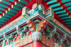 Porcelanowa świątynna architektura Zdjęcia Stock