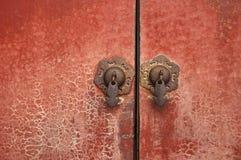 porcelanowa drzwiowa gałeczka Fotografia Royalty Free