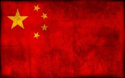 porcelanowa flagę Obrazy Stock