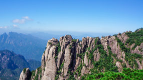Porcelanowa góry Sanqingshan sceneria fotografia royalty free