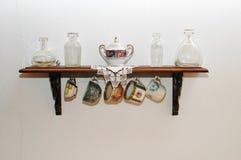 Porcelanowa herbaciana półka Obrazy Royalty Free