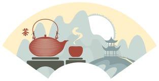 Porcelanowa herbata Zdjęcie Royalty Free