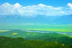 Porcelanowa Landscapeï ¼ Qinghai Góra Zdjęcia Royalty Free